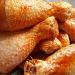 muslos pollo sazonado