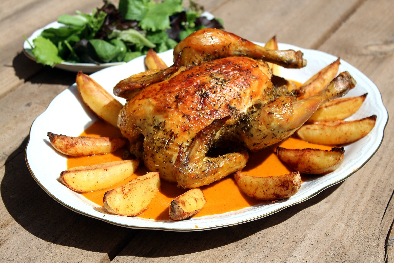 Pollo Asado Con Patatas Estilo Karlos Arguiñano Recetas Pollo Al Horno