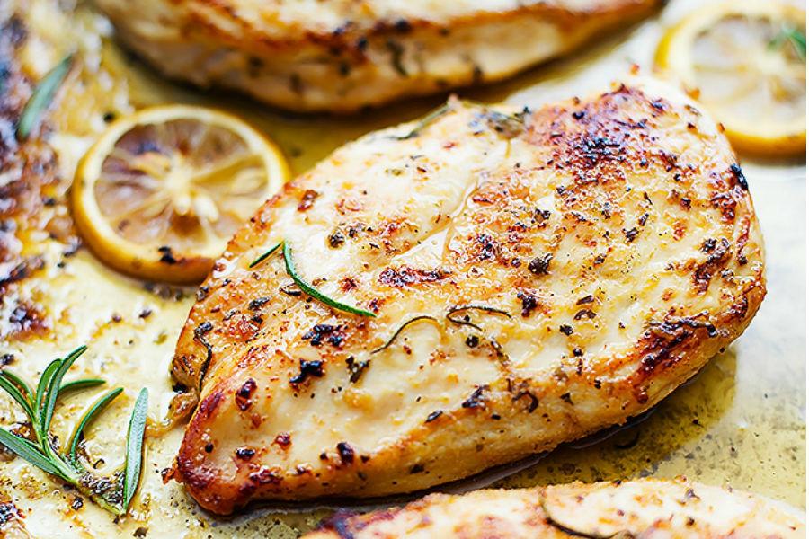 pechuga de pollo comida
