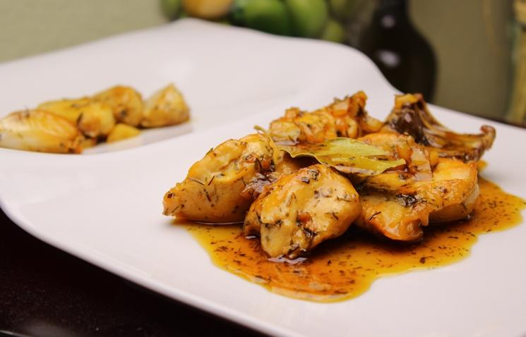 pollo plato restaurante