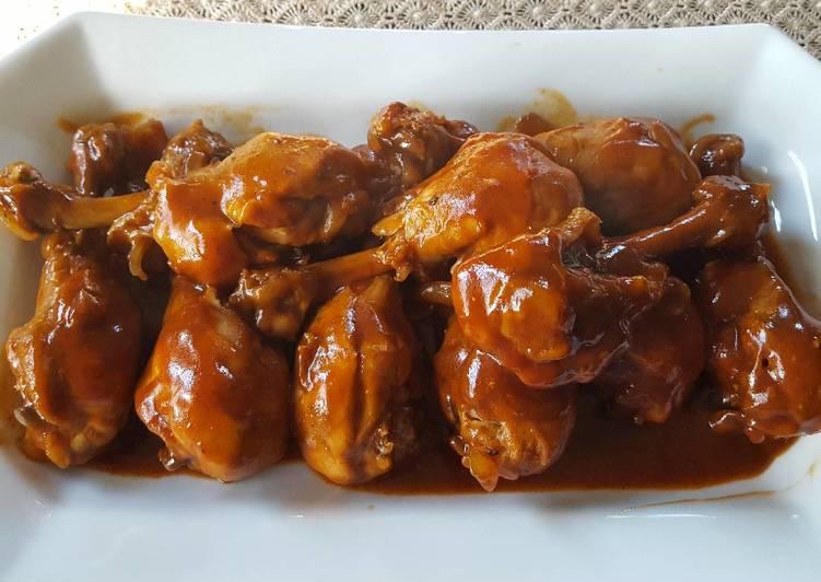 pollo plato coca cola salsa receta
